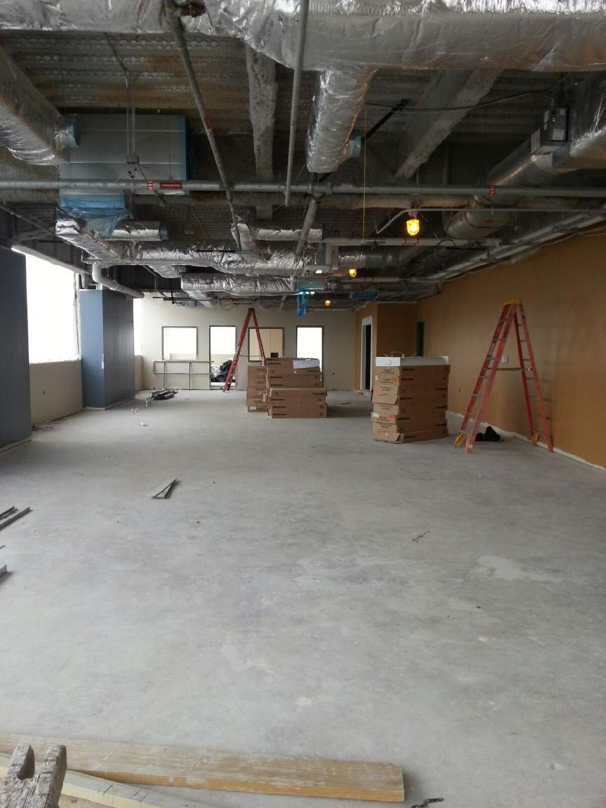 Dispatch Office During Construction