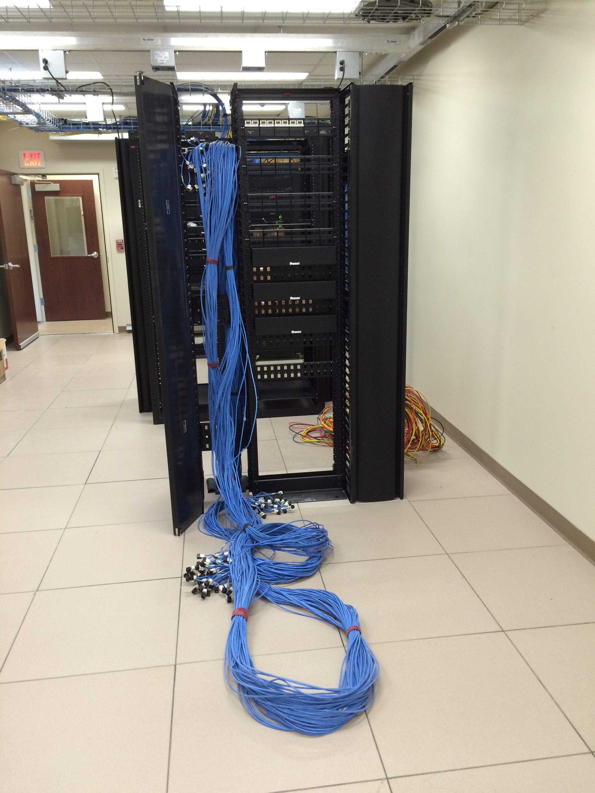 Cabling From Dispatch Consoles Back to Server Room