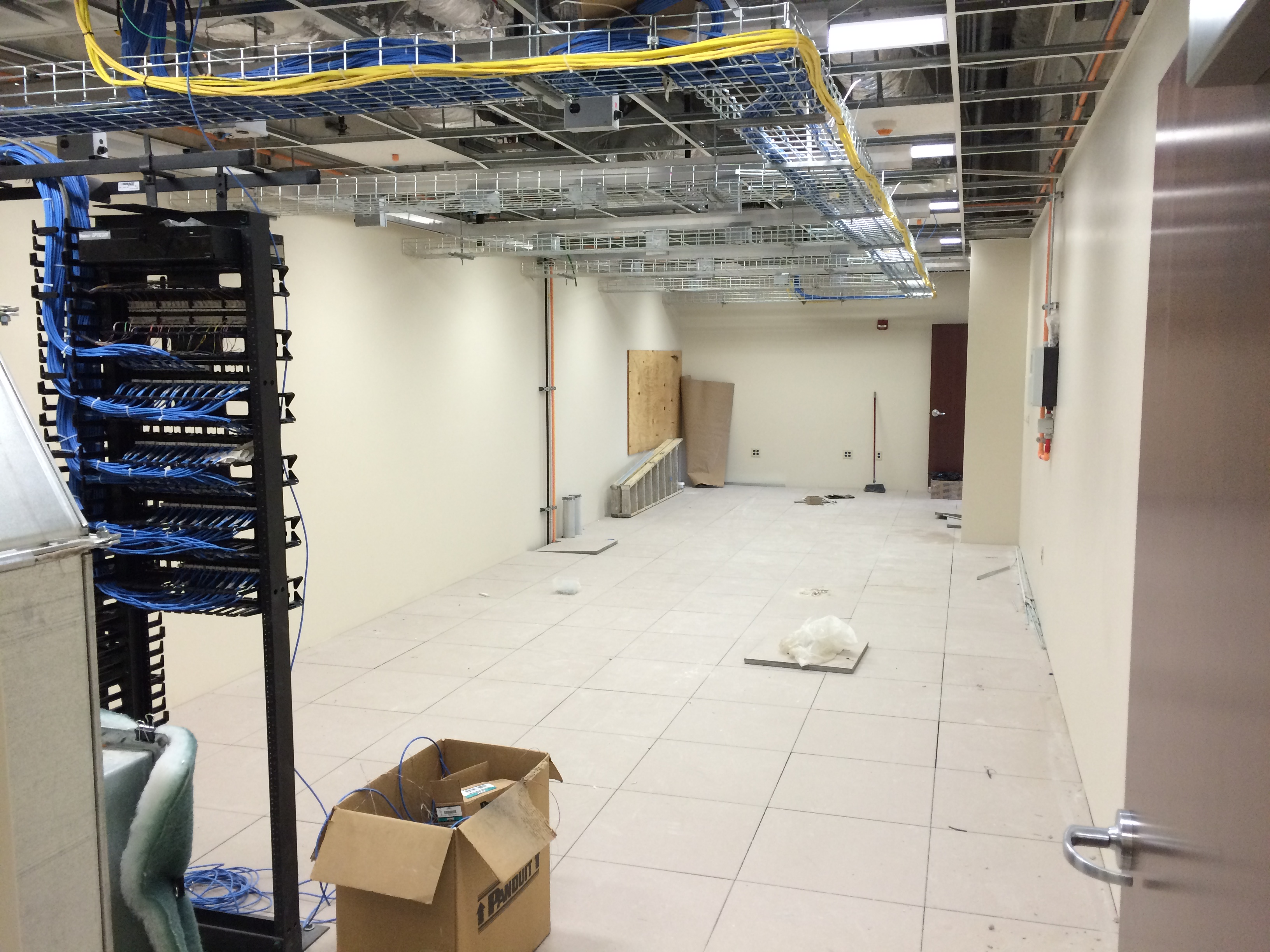 Server Room During Construction